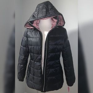 Kate Spade Down Jacket with Hood Black Small